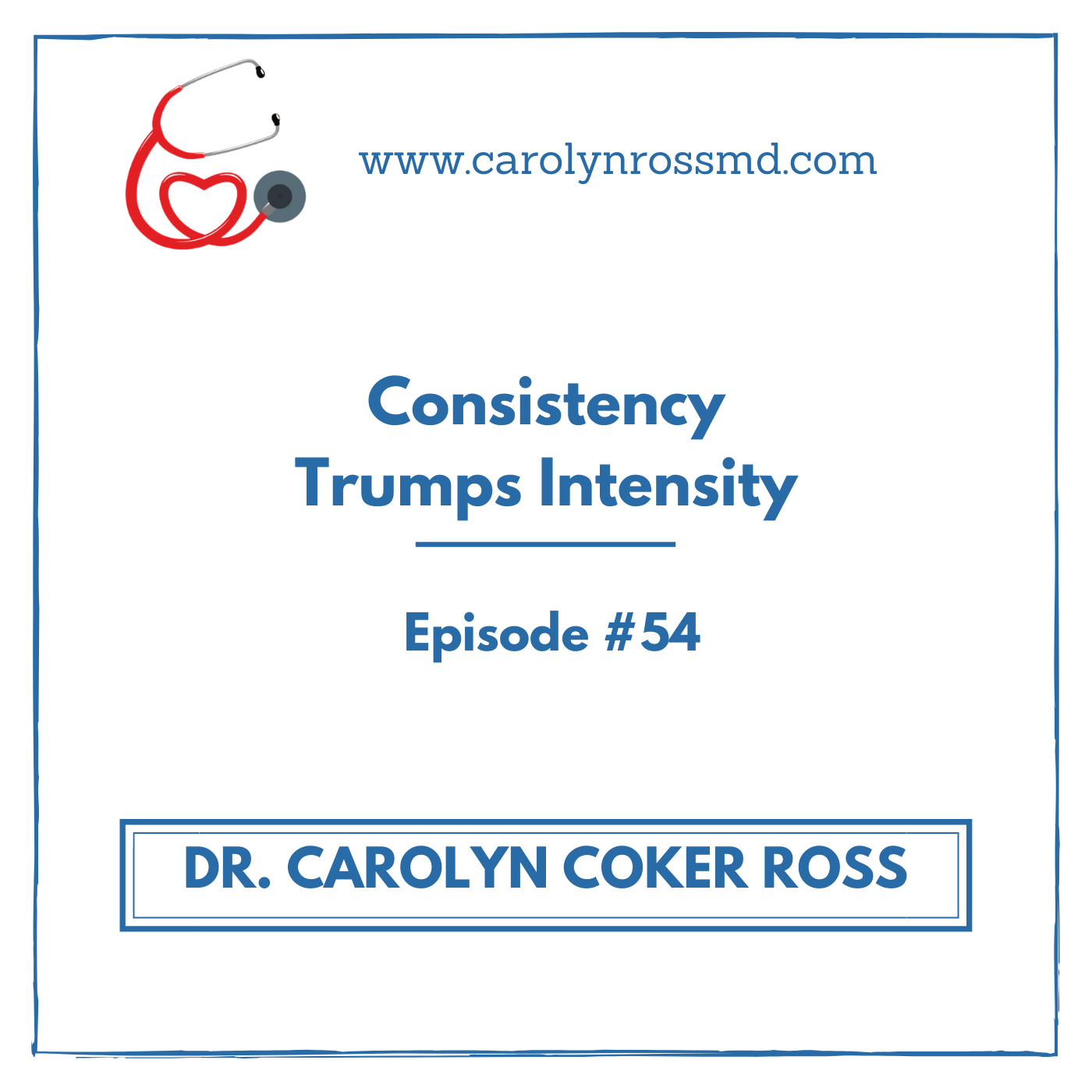 Consistency Trumps Intensity
